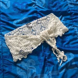 Swim sarong crochet wrap